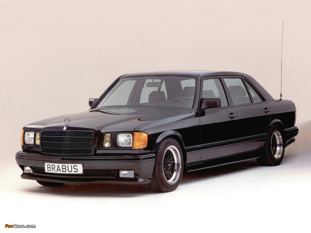 Pictures of Brabus Mercedes-Benz 560 SEL 6.0 (W126) (1024 x 768)