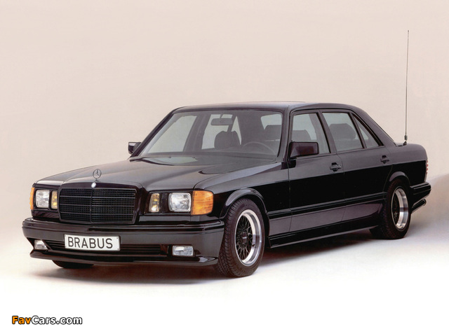 Pictures of Brabus Mercedes-Benz 560 SEL 6.0 (W126) (640 x 480)