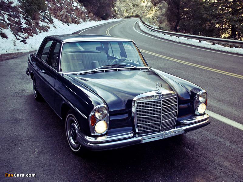 Mercedes-Benz S-Klasse (W108/109) 1966–72 wallpapers (800x600)