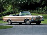 Mercedes-Benz 280 SE 3.5 Cabriolet US-spec (W111) 1969–71 wallpapers