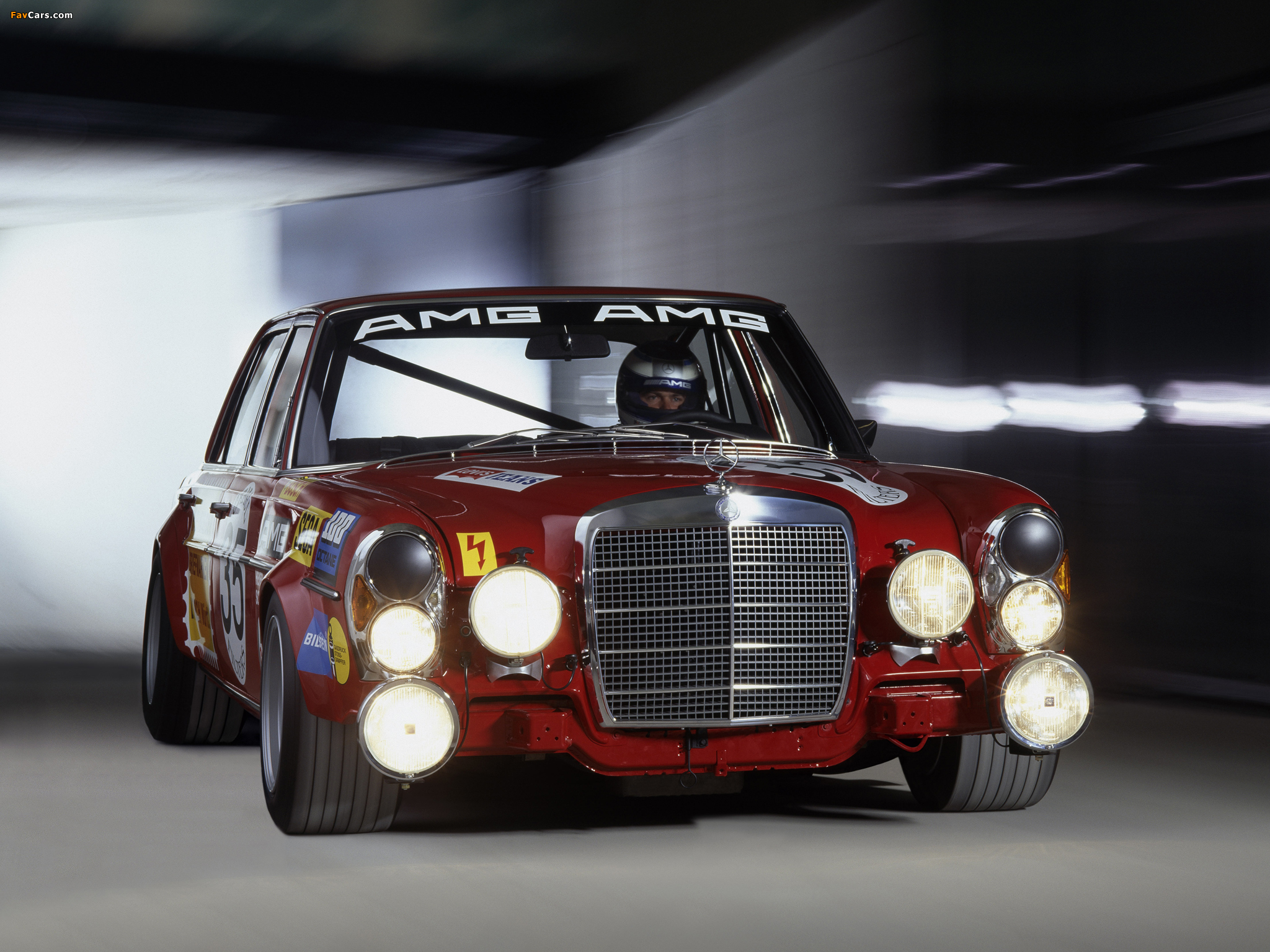 AMG 300SEL 6.3 Race Car (W109) 1971 wallpapers (2048x1536)