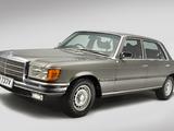 Mercedes-Benz 450 SEL UK-spec (W116) 1972–80 wallpapers