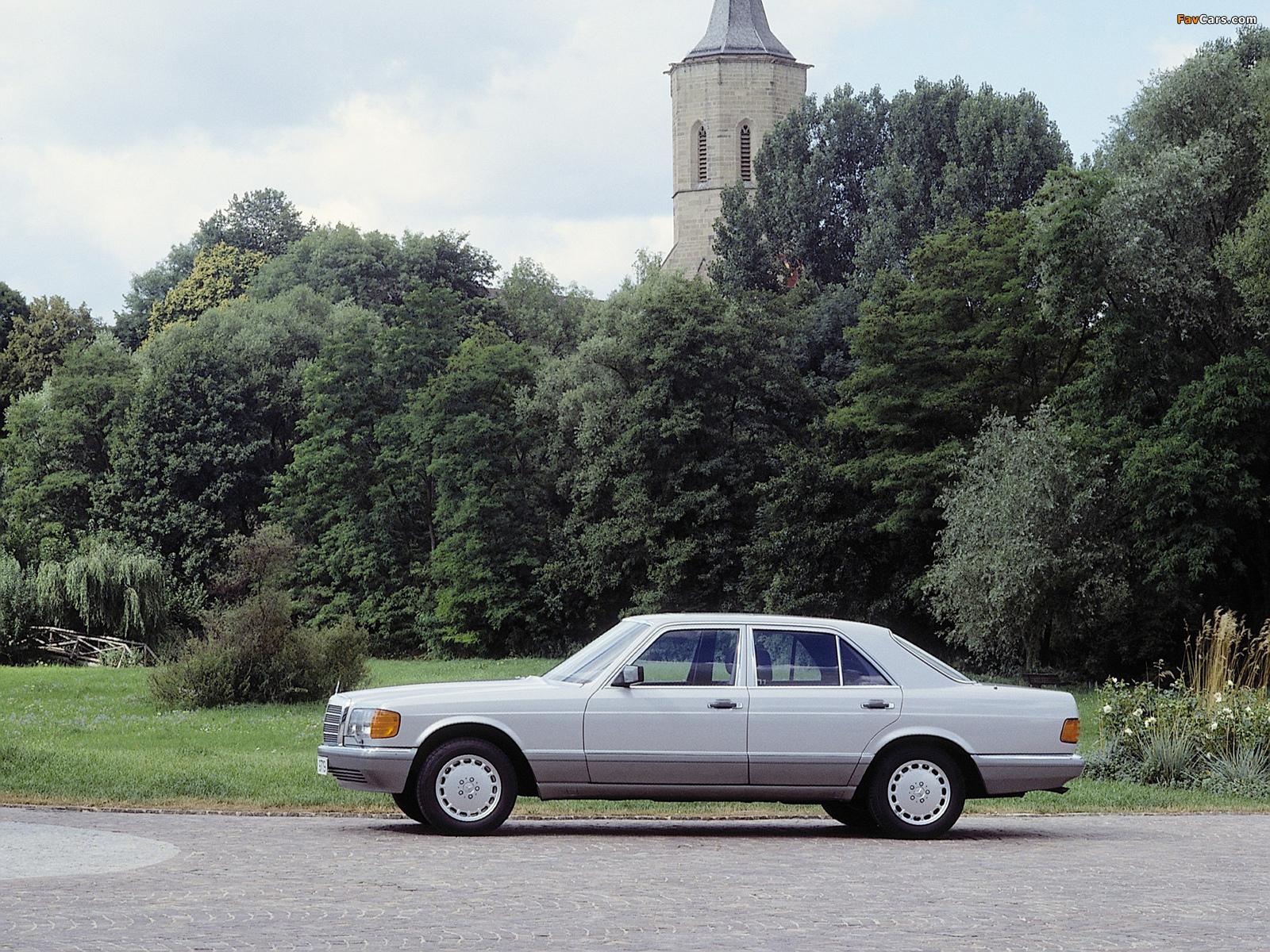 Mercedes-Benz S-Klasse (W126) 1979–91 wallpapers (1600 x 1200)