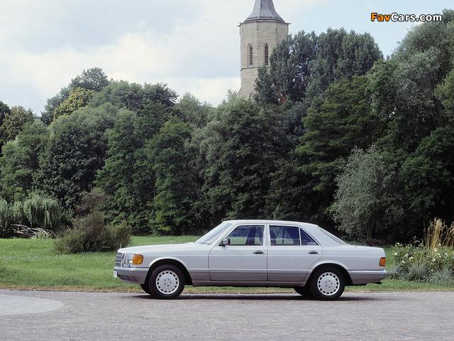 Mercedes-Benz S-Klasse (W126) 1979–91 wallpapers (640 x 480)