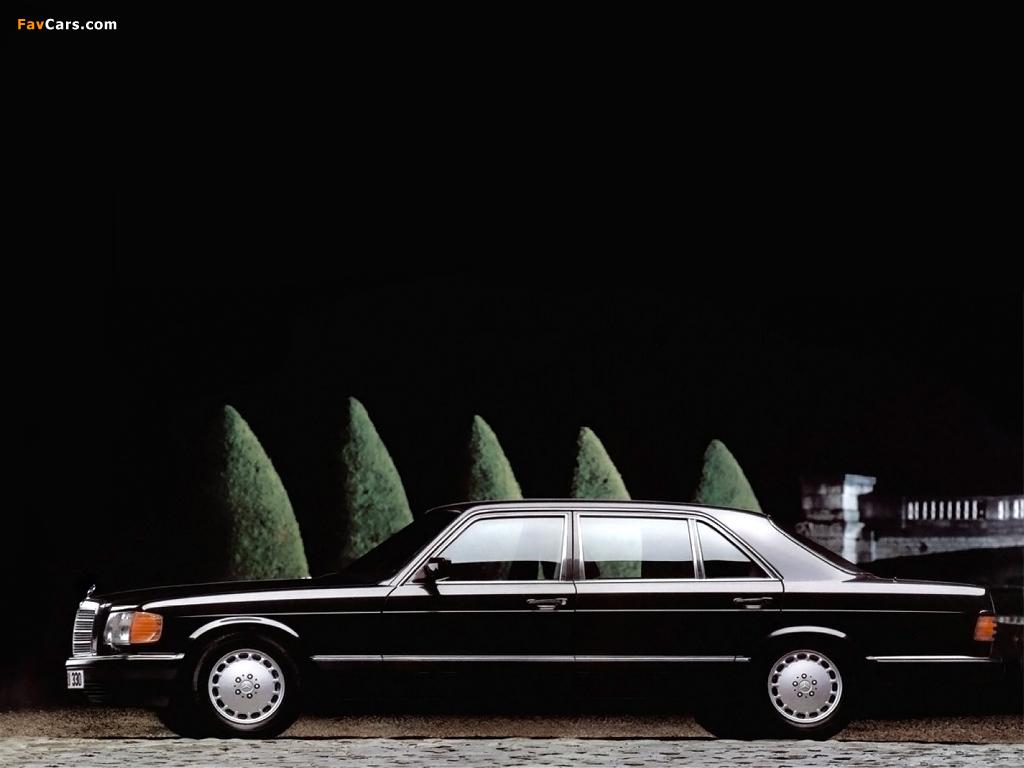 Mercedes-Benz S-Klasse (W126) 1979–91 wallpapers (1024 x 768)