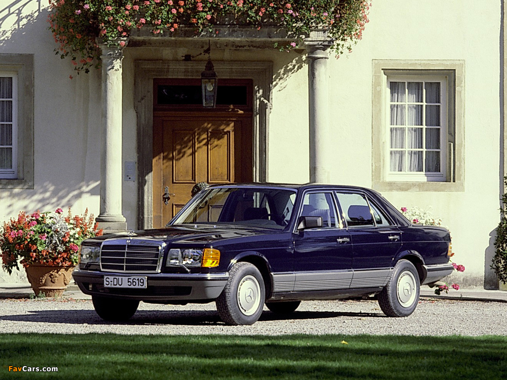 Mercedes-Benz 380 SEL (W126) 1980–85 wallpapers (1024 x 768)