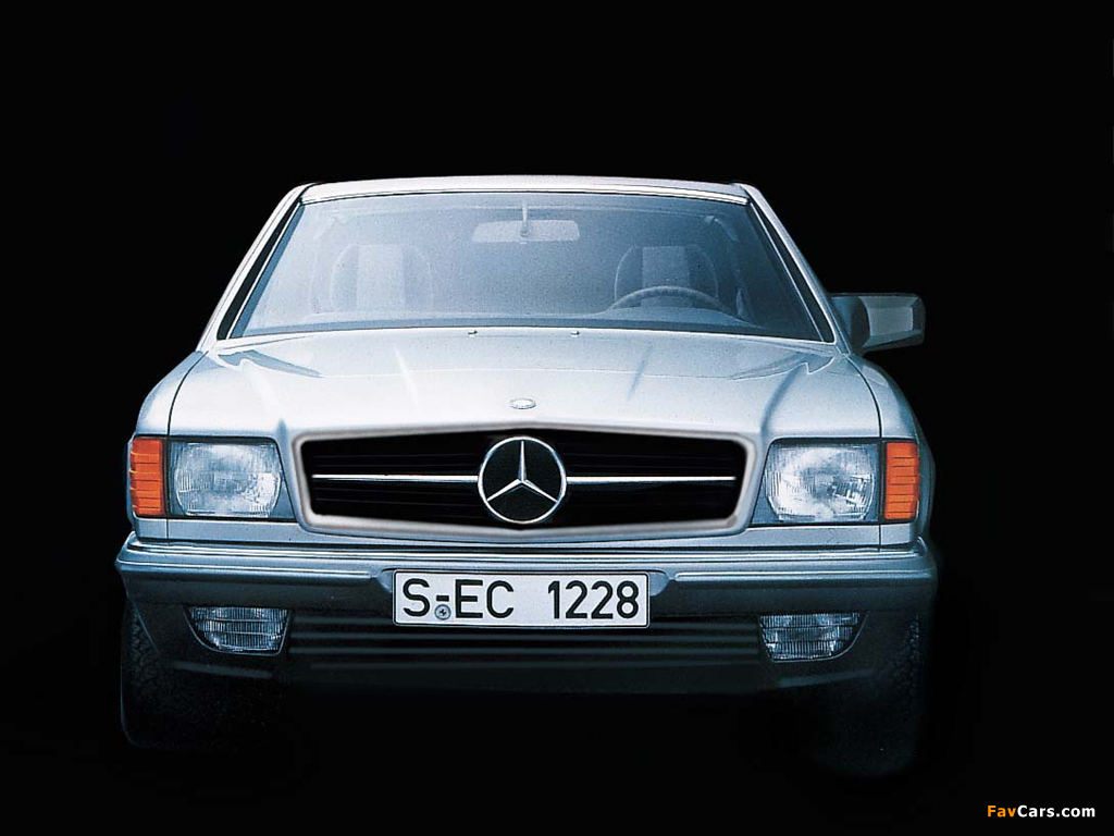 Mercedes Benz 500 Sec C126 1981 91 Wallpapers 1024x768
