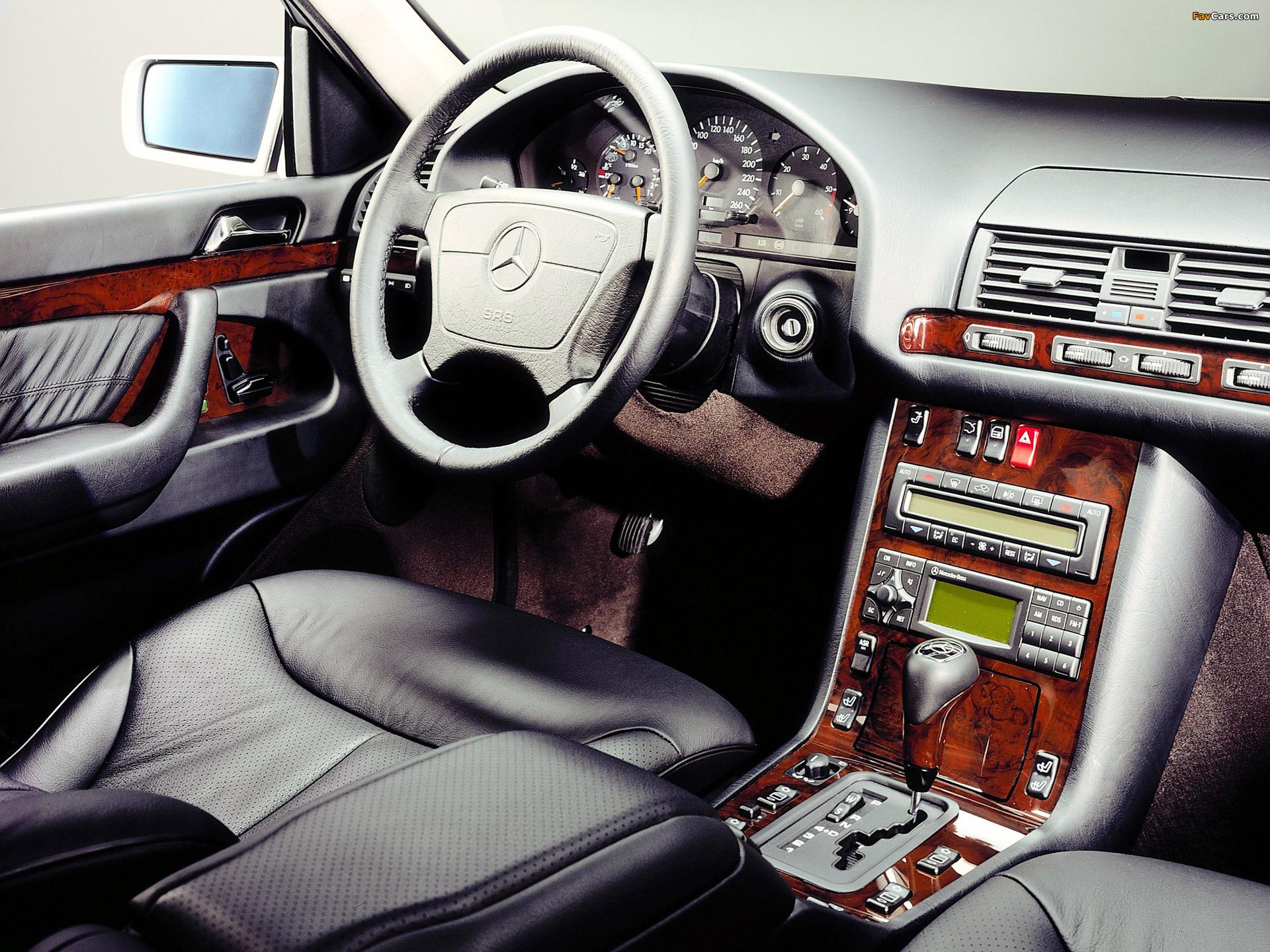 Mercedes-Benz S-Klasse (W140) 1991–98 wallpapers (1920 x 1440)