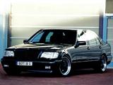 Brabus Mercedes-Benz S-Klasse (W140) 1991–93 wallpapers