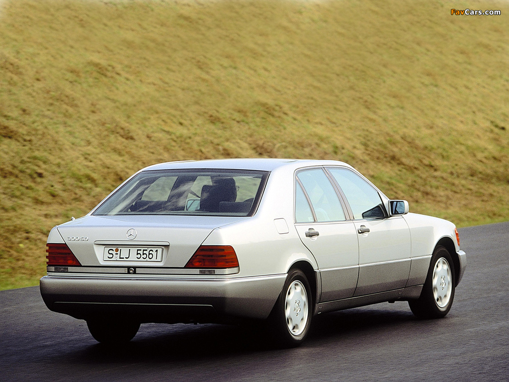 Mercedes-Benz 300 SD (W140) 1992–93 wallpapers (1024 x 768)