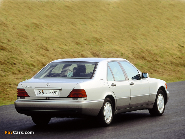 Mercedes-Benz 300 SD (W140) 1992–93 wallpapers (640 x 480)