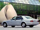 Mercedes-Benz S 300 Turbodiesel (W140) 1996–98 wallpapers
