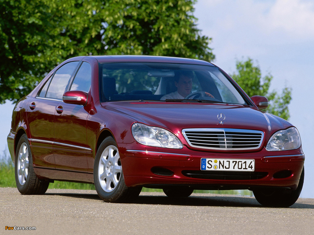 Mercedes-Benz S 400 CDI (W220) 1999–2002 wallpapers (1024 x 768)