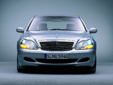 Mercedes-Benz S 500 4MATIC (W220) 2002–06 wallpapers