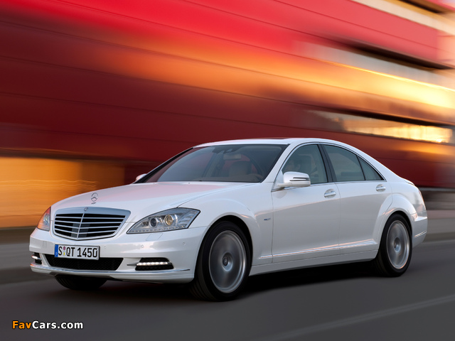 Mercedes-Benz S 400 Hybrid (W221) 2009–13 wallpapers (640 x 480)