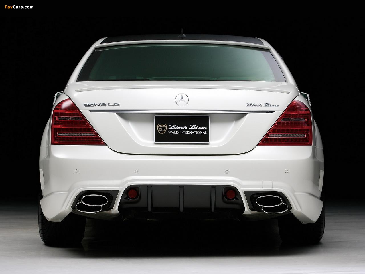WALD Mercedes-Benz S-Klasse Black Bison Edition Sports Line (W221) 2010–13 wallpapers (1280 x 960)