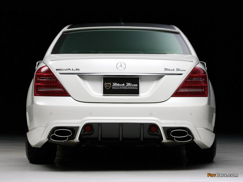 WALD Mercedes-Benz S-Klasse Black Bison Edition Sports Line (W221) 2010–13 wallpapers (800 x 600)