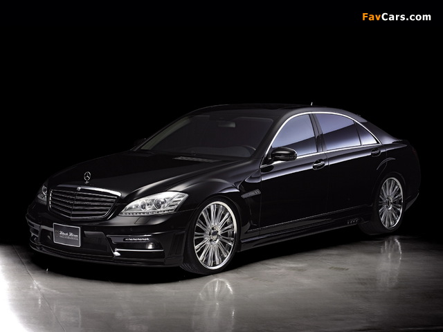 WALD Mercedes-Benz S-Klasse Black Bison Edition Sports Line (W221) 2010–13 wallpapers (640 x 480)