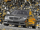 Mercedes-Benz S 63 AMG US-spec (W221) 2010–13 wallpapers