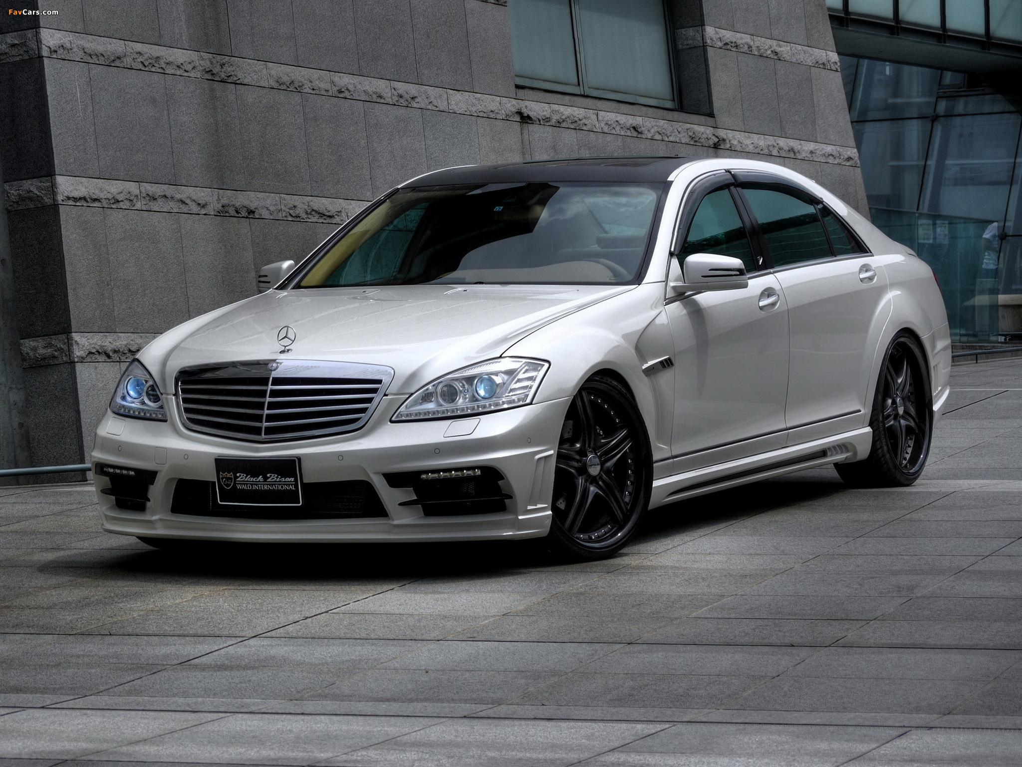 WALD Mercedes-Benz S-Klasse Black Bison Edition Sports Line (W221) 2010–13 wallpapers (2048 x 1536)