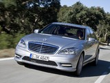 Mercedes-Benz S 350 BlueEfficiency AMG Sports Package (W221) 2010–13 wallpapers