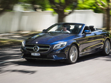 Mercedes-Benz S 500 Cabriolet AU-spec (A217) 2016 wallpapers