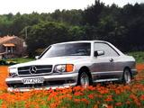 Zender Mercedes-Benz 500 SEC (C126) wallpapers