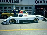 Pictures of Sauber Mercedes-Benz C8 1985–87