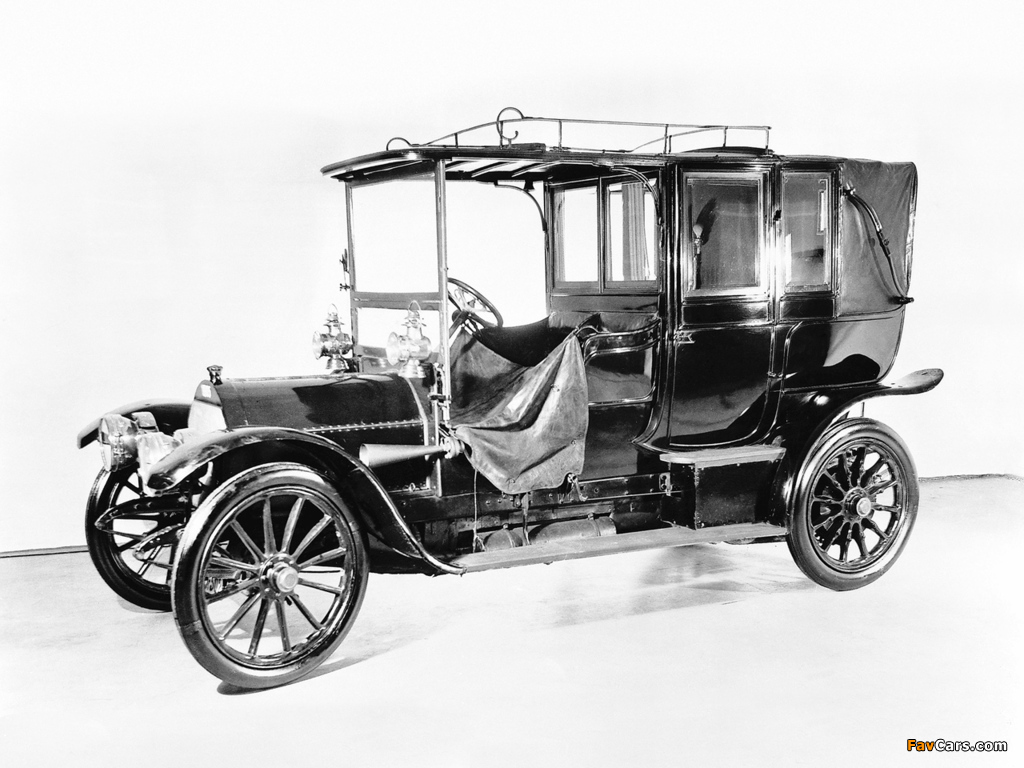 Mercedes Simplex 35 HP Landaulet 1901–05 wallpapers (1024 x 768)