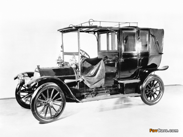 Mercedes Simplex 35 HP Landaulet 1901–05 wallpapers (640 x 480)