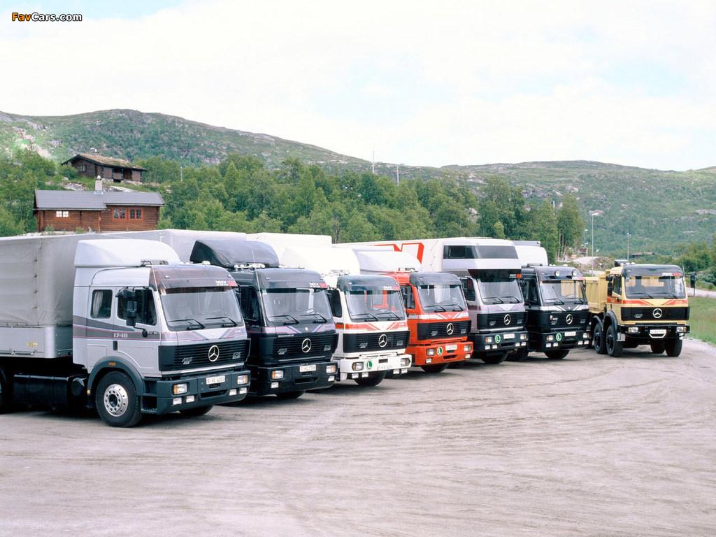 Mercedes Benz Trucks >> Mercedes-Benz SK-Series Trucks images (1024x768)