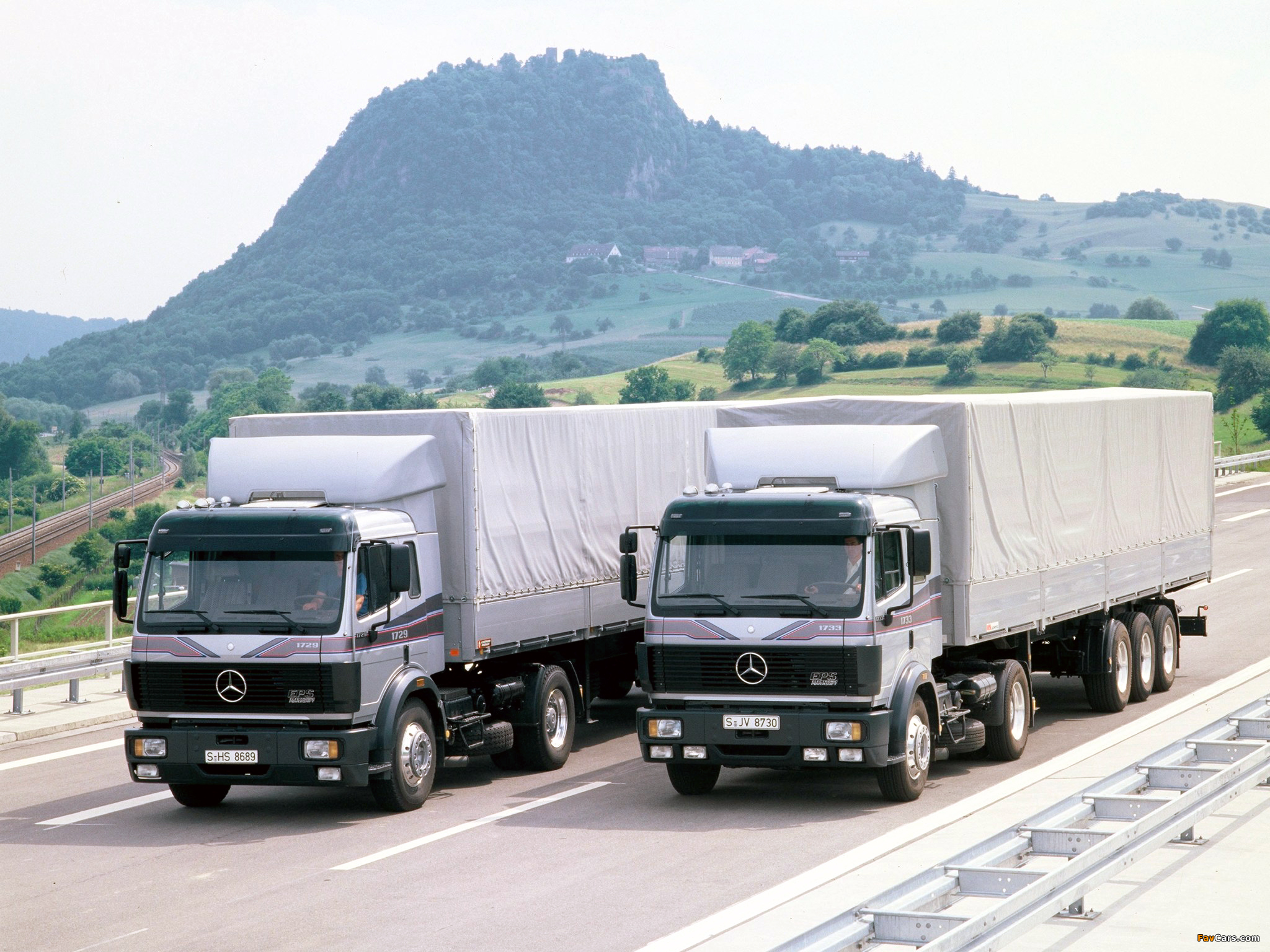 Mercedes Benz Trucks >> Mercedes-Benz SK-Series Trucks wallpapers (2048x1536)