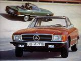 Images of Mercedes-Benz 350 SL (R107) 1971–80