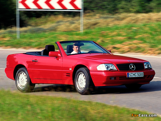 Images of Mercedes-Benz SL 500 (R129) 1993–2001 (640 x 480)