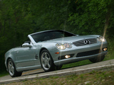 Images of Mercedes-Benz SL 55 AMG US-spec (R230) 2001–08