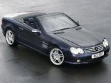 Images of Mercedes-Benz SL 55 AMG UK-spec (R230) 2001–08