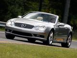 Images of Mercedes-Benz SL 500 US-spec (R230) 2001–05
