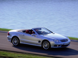 Images of Mercedes-Benz SL 55 AMG (R230) 2001–08