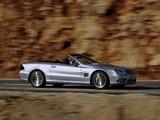 Images of Mercedes-Benz SL 55 AMG (R230) 2001–08