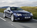 Images of Mercedes-Benz SL 500 Sports Package UK-spec (R230) 2005–08