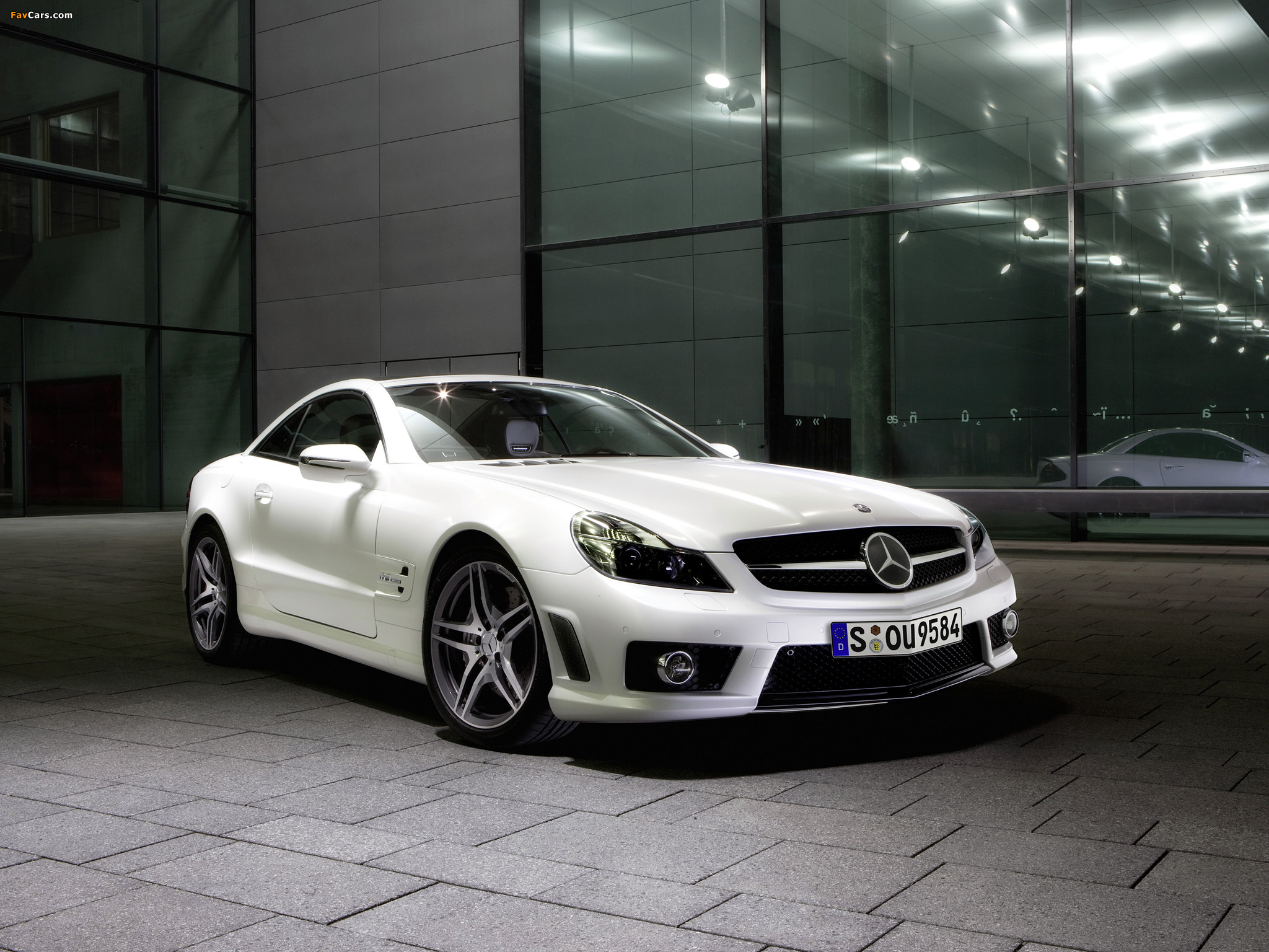 Images of Mercedes-Benz SL 63 AMG Limited Edition IWC (R230) 2008 (2048 x 1536)