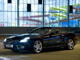 Images of Mercedes-Benz SL 500 UK-spec (R230) 2008–11