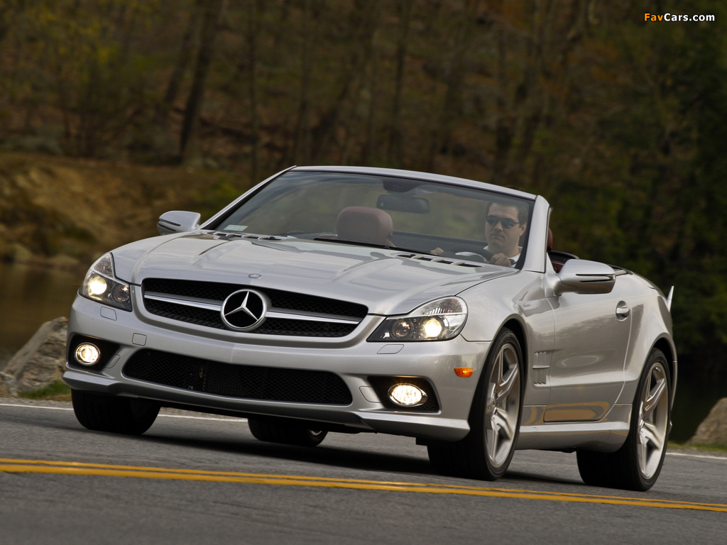 Images of Mercedes-Benz SL 550 (R230) 2008–11 (1024 x 768)