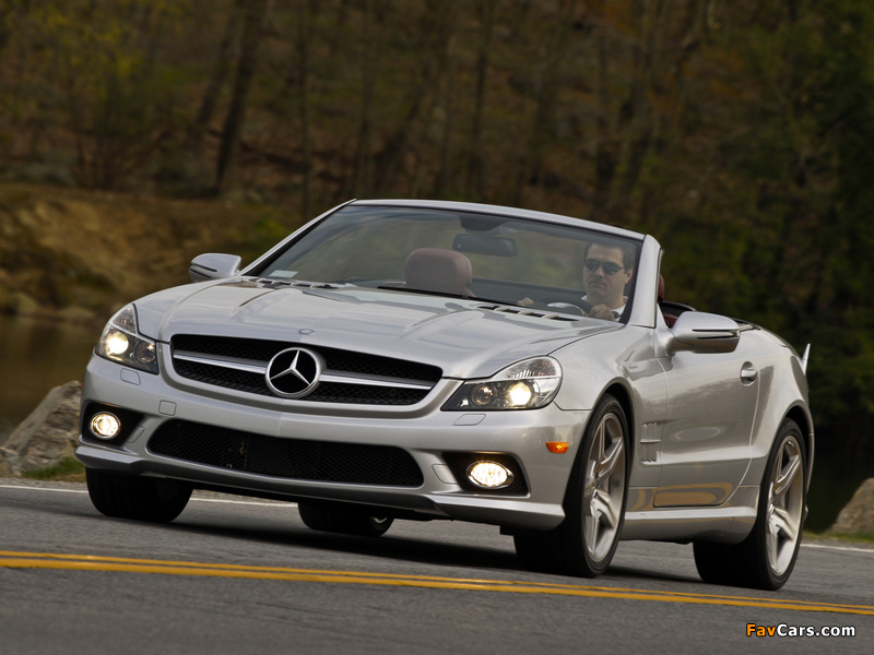 Images of Mercedes-Benz SL 550 (R230) 2008–11 (800 x 600)