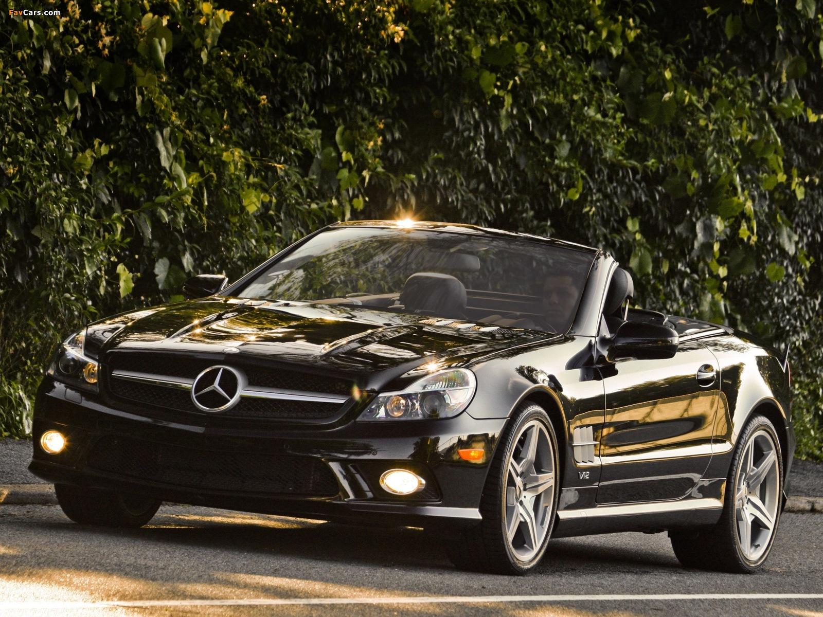Images of Mercedes-Benz SL 600 US-spec (R230) 2008–11 (1600 x 1200)