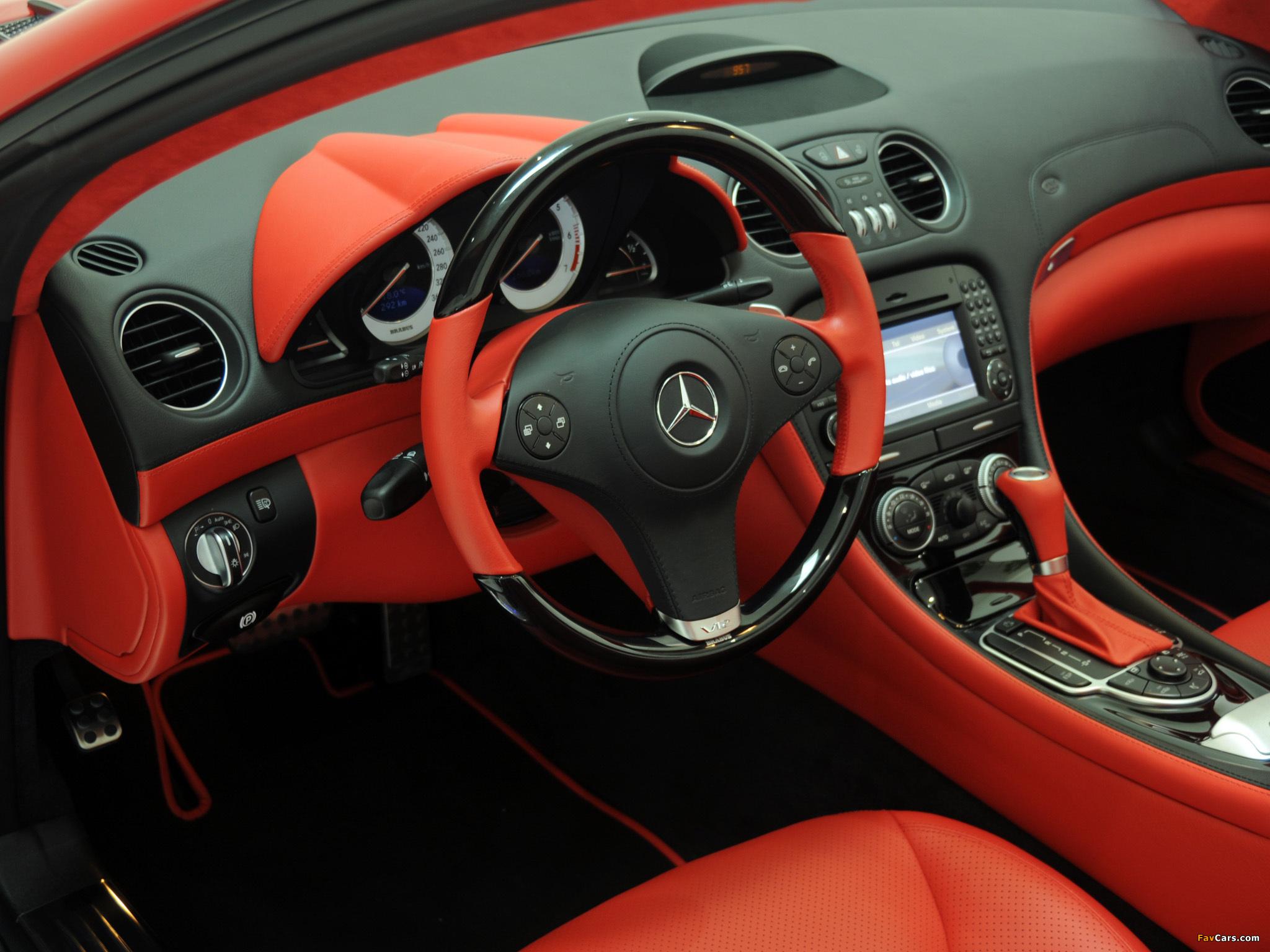 Images of Brabus Mercedes-Benz SL-Klasse (R230) 2009–12 (2048 x 1536)