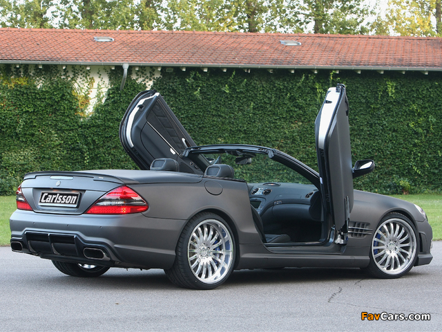 Images of Carlsson CK 63 RS (R230) 2009 (640 x 480)