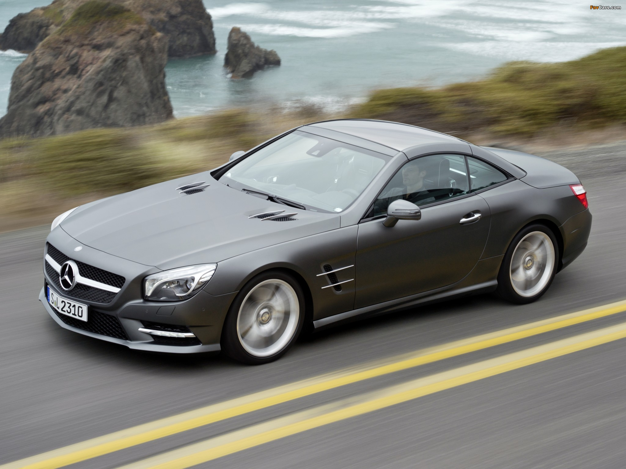 Images of Mercedes-Benz SL 500 AMG Sports Package (R231 ...