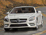 Images of Mercedes-Benz SL 550 AMG Sports Package (R231) 2012