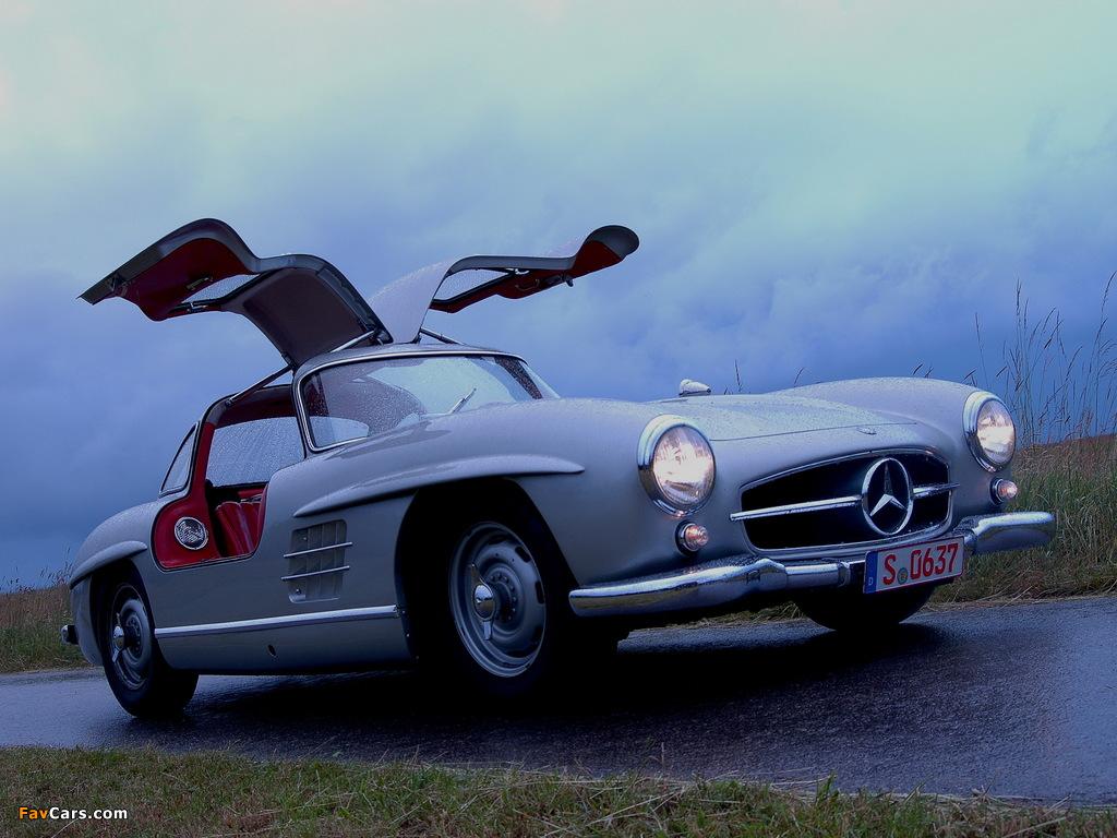 Mercedes-Benz 300 SL (W198) 1954–57 pictures (1024 x 768)